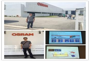 马来西亚欧司朗LED工厂学习