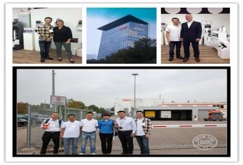 技术团队,远赴德国欧司朗总部学习