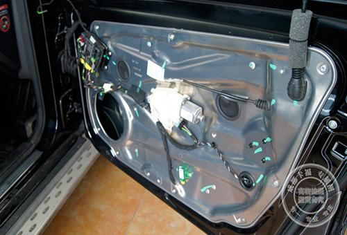 GLK电动折叠后视镜改装
