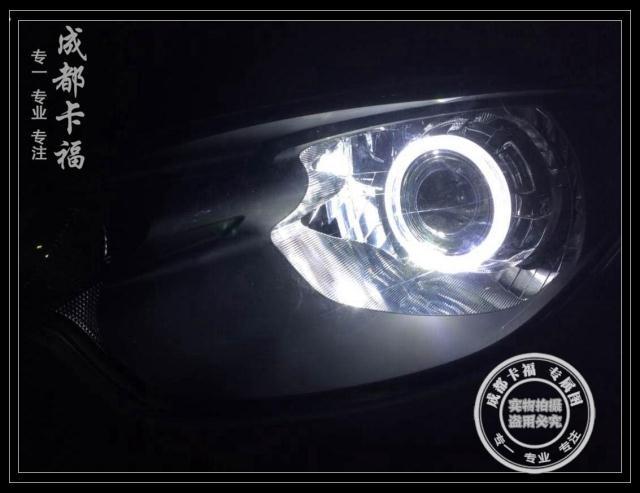 名爵MG3车灯改装