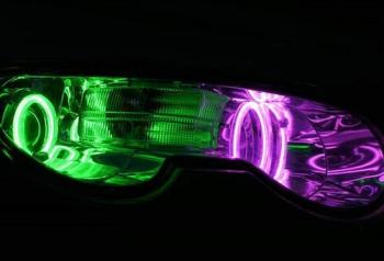 荣威550车灯改装