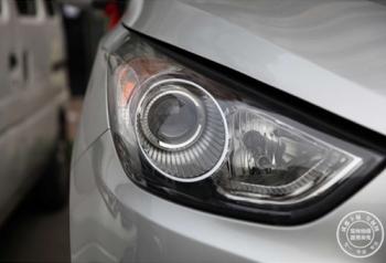 现代IX35车灯改装