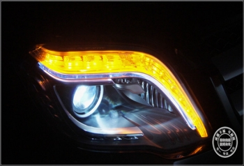 GLK升级原厂智能大灯